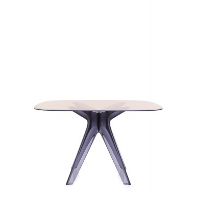 SIR GIO TABLE CARREE STRUCTURE FUME