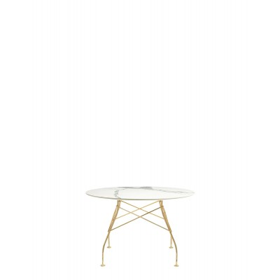 GLOSSY RONDE 118 CM STRUCTURE OR